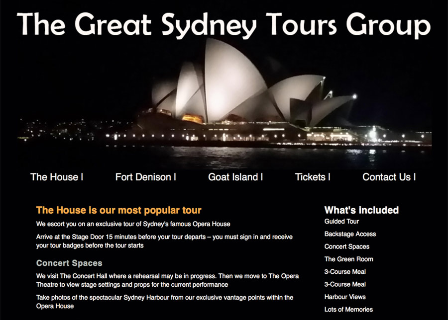 The Great Sydney Tours Group